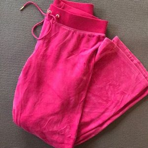 Hot Pink Juicy Couture Sweatpants